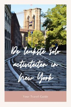 De leukste solo activiteiten in New York - Your Travel Guide New York Trip, New York Travel Guide, Usa Cities, Ultimate Travel, Solo Travel, Where To Go, Travel Inspiration, North America, Brooklyn