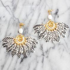Gas Bijoux gaia earrings on Les trouvailles d'Elsa.fr