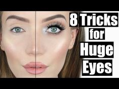 Not blessed with big, beautiful Mila Kunis eyes? Here's how to fake big eyes with makeup. These simple tips are perfect for makeup enthusiast of all levels.