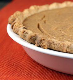 Parsnip Buttermilk Pie, from Food Gal