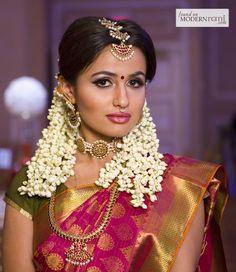 Indian Bride  See more pics here: http://www.modernrani.com/posts/2013/2/jodi-bridal-show-teaser