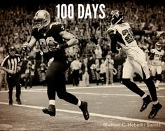 100 days from today, the New Orleans Saints host the Atlanta Falcons to open the 2013 regular season!