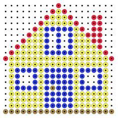 Haus - Bügelperlen - perler beads