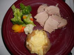 Pork roast with veggies!
