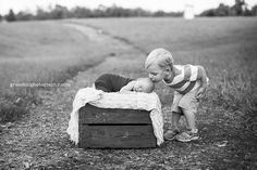 Grace Hill Photography siblings, newborn session #photography