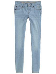 Knit Denim Super Skinny Jeans