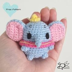 ♥️ Dumbo Ufufy Amigurumi - Delinlea - My little fantasy world