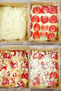 ciasto drozdzowe z truskawkami1