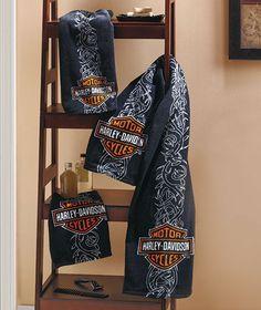 Harley Davidson towels