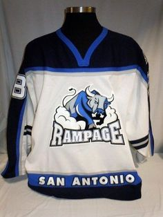 Dana White Jersey - San Antonio Rampage Game Ready  38 - Autographed NHL  Jerseys by 0a07ef78b