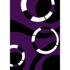 "Persian-rugs Purple Area Rug Rug Size: 7'10"" x 10'2"""