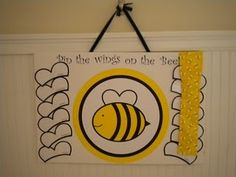 pin the wings on the bee game