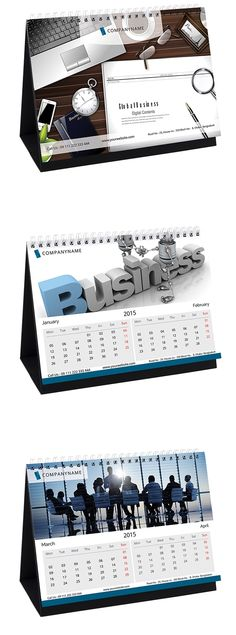 Kalender Meja 2015 - 09 - 2015 Desk Calendar PSD DESIGN