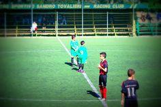 Calcio d'inizio. Giovanissimi 2000