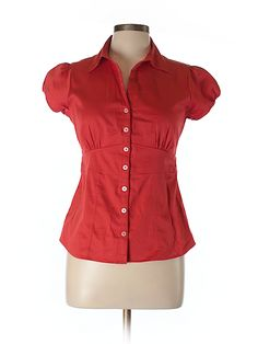 Check it out—Banana Republic Factory Store Short Sleeve Blouse for $17.99 at thredUP!