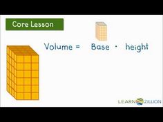 Understand volume, measure volume,  relate volume to multiplication and addition (5.MD.4)