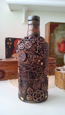something to create: Steampunk bottle
