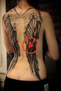 De achterkant is een prachtige en heerlijke plek om je tatoeage op te zetten. Dit komt omdat het een breed oppervlak heeft en een prachtig uitzicht heeft. Je kunt ervoor kiezen om de tatoeage op je boven- of onderrug te hebben. Valt prachtig en perfect op. Hier zijn #bestetatoeage #tattoomodellen Back Tattoo, I Tattoo, Cool Tattoos, Tattoo Models, Tattoos With Meaning, Tattoo Designs, Wings, Classy, Parfait