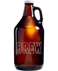 Does your guy love his craft brews? Add The Cellar's beer growler to your registry so he can take home his favorite beers, straight from the brewery.