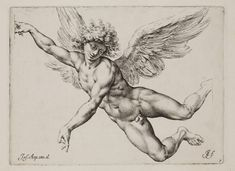 View Der Sturz des Ikarus after Giuseppe Cesari by Raffaello Guidi on artnet. Browse upcoming and past auction lots by Raffaello Guidi. Angel Wings Painting, Angel Drawing, Angel Art, Cherub Tattoo, Angel Flying, Engraving Printing, Christian Artwork, Art Sketchbook, Art Inspo