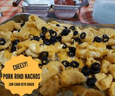 Baked+Cheesy+Pork+Rind+Nachos+(Low-Carb+Keto+Snack)