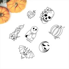 49 Beautiful and Amazing Halloween Tattoos for halloween tattoos sleeve, halloween tattoo ideas, halloween tattoo small, halloween tattoos vintage Halloween Date, Halloween Film, First Halloween, Halloween Tattoo Flash, Disney Halloween, Scary Halloween, Creepy Halloween Decorations, Halloween Party Decor, Halloween Crafts