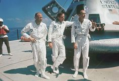 Monday marks the anniversary of the July Apollo 11 moon landing by American astronauts Neil Armstrong, Buzz Aldrin and Michael Collins. Apollo 11 Crew, Apollo 11 Mission, Apollo Missions, Apollo Space Program, Nasa Space Program, Michael Collins, Buzz Aldrin, Neil Armstrong, Space Race