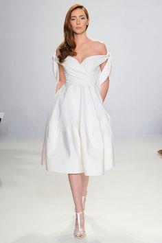 20 Amazing Short Wedding Dresses from Bridal Fashion Week
