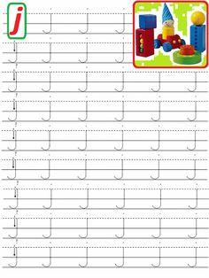 Letter Writing Worksheets, Preschool Number Worksheets, Alphabet Writing, Numbers Preschool, Handwriting Worksheets, Preschool Learning Activities, Alphabet Worksheets, Learning Letters, Kindergarten Worksheets