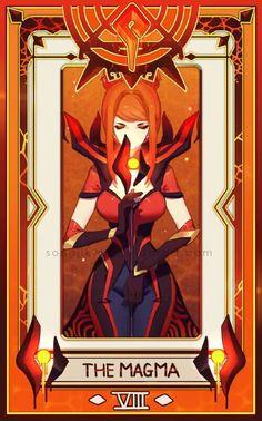 Elementalist Lux   Magma   League of Legends   .Kyo.m★n.