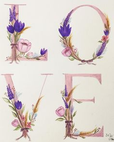 Sieh dir dieses Instagram-Foto von @annikaangeliqua an • Gefällt 39 Mal Art by annikaangeliqua love flowers pink aquarelle watercolor