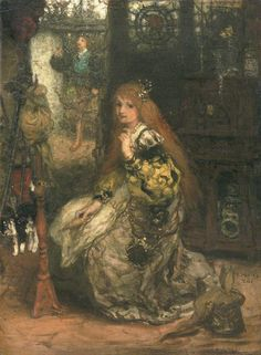 Matthijs Maris - Hij komt eraan 1874