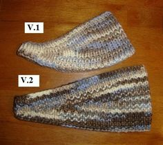 Free Pattern: Ear Warmers  - V. 1 & 2   Yes, it's another chunky pattern (I have a lot of stash I'm trying to use up). These ear warmers /h...