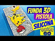 Manualidades: FUNDA de SILICONA CALIENTE (Pokémon GO - Pikachu) - Innova Manualidades - YouTube Pokemon Go, Pikachu, Easy Diy Crafts, Arts And Crafts, Bags, Craft Tutorials, Cell Phone Accessories, Mobile Cases, Prize Draw