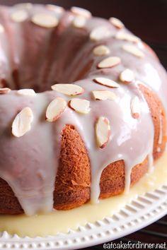 Eat Cake For Dinner: Banana Pudding Bundt Cake with White Chocolate Gan...