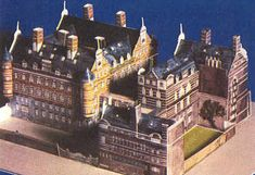 Scotland Yard follow the link for the downloads to make this paper building