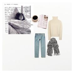 """Sunday Morning"" by anouk-rocher ❤ liked on Polyvore featuring By Lassen, Levi's, The Row and Acne Studios"