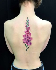 If you're thinking about getting a back tattoo, you are in good luck. Here is a great collection of 50 cool back tattoo ideas for your inspiration. We have ideas for everyone from beautiful image to meaningful quotes. Floral Back Tattoos, Cool Back Tattoos, Flower Tattoo Back, Spine Tattoos, Back Tattoo Women, Body Art Tattoos, Sleeve Tattoos, Tattoos For Women, Tattoos For Guys