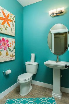 Chic Turquoise Mosaic Tiles Ocean Inspired Bathroom With White - Fish bath towels for small bathroom ideas