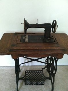 """Anita Boone-Booker: """"A photo from Anita"""" The old treadles always take us back in time...  Do you remember using one?"""