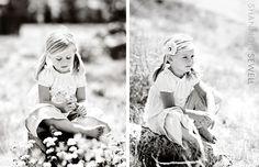 A field of flowers...