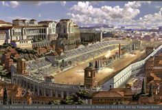 Nice re-imagining of early 4th century Circus Maximus in Rome