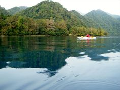 Hokkaido Shikotsuko lake