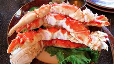 Slow Cooker Crab Legs - Simple and EASY to make!  YUM!  www.GetCrocked.com