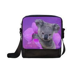 Koala Crossbody Nylon Bag. FREE Shipping. #artsadd #bags #koalas