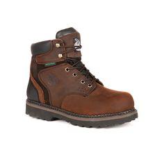 Georgia Boot Brookville Men's 6-in. Waterproof Work Boots, Size: medium (11.5), Dark Brown