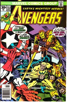 Avengers 1963 1st Series 153 November 1976 Issue  by ViewObscura