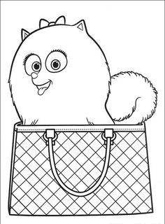tajný život mazlíčků omalovánky - Hledat Googlem