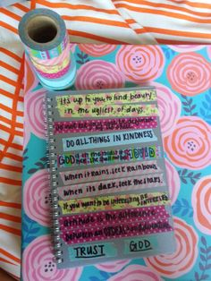 Washi tape planner inspirations!