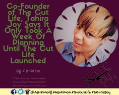 I talk with co-founder, Tahira Joy from The Cut Life about their launch, how to be featured and her days as a celebrity publicist.  Visit: bit.ly/TJTheCutLife